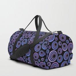 Retro ultraviolet Duffle Bag