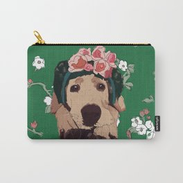 Frida-brador Carry-All Pouch