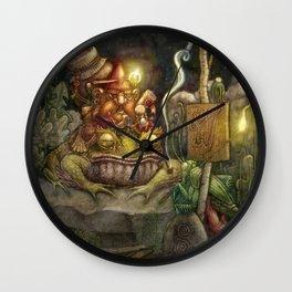 A special delivery / Un envío especial Wall Clock