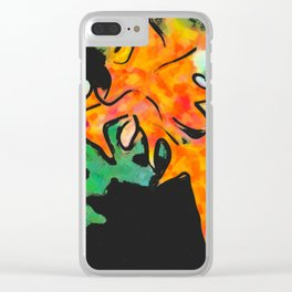 Autumn nature Clear iPhone Case