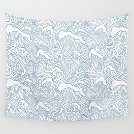 Japanese Wave Wall Tapestry