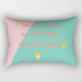 cheese fries Rectangular Pillow
