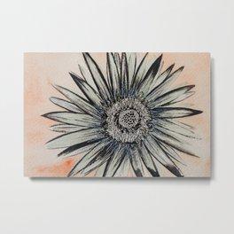 Modern Flower Metal Print