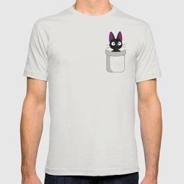 Pocket Jiji! T-shirt