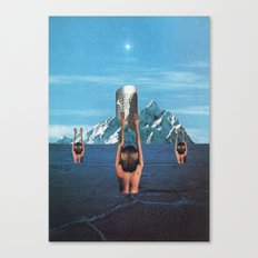 The Worshippers - Thom Easton Collaboration Canvas Print