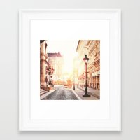 budapest Framed Art Prints featuring Budapest by Giulia Squillace
