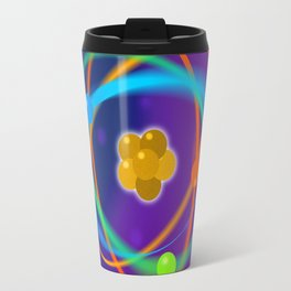 Atomic Structure Spots Travel Mug