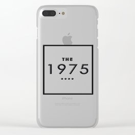 1975 English rock band Clear iPhone Case