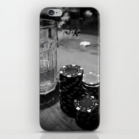 poker iPhone & iPod Skins featuring Poker Time by Eduard Leasa Photography