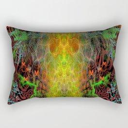 The Warmth of Swamp Thunder Rectangular Pillow