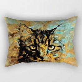 Cat 617 Rectangular Pillow
