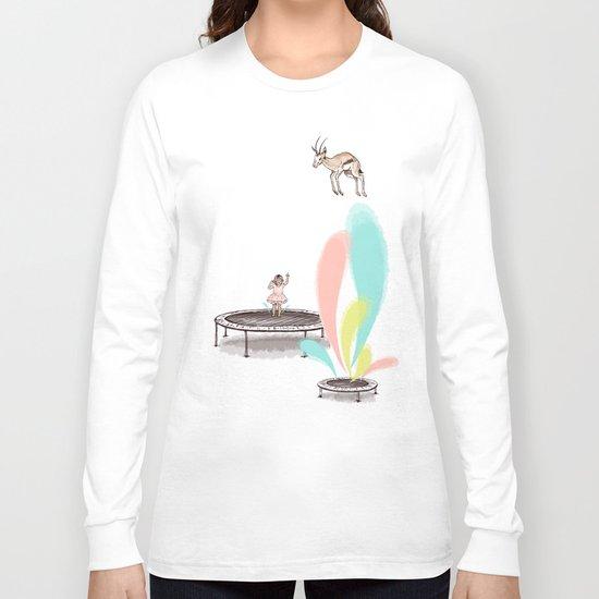 Gazelles Make Bad Friends Long Sleeve T-shirt