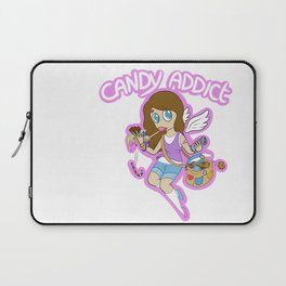 Candy Addict V.1 Laptop Sleeve
