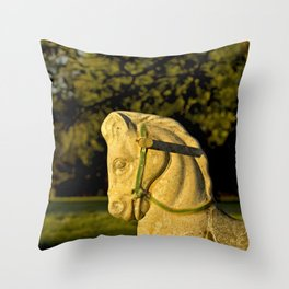 Chestnut Horse Throw Pillow