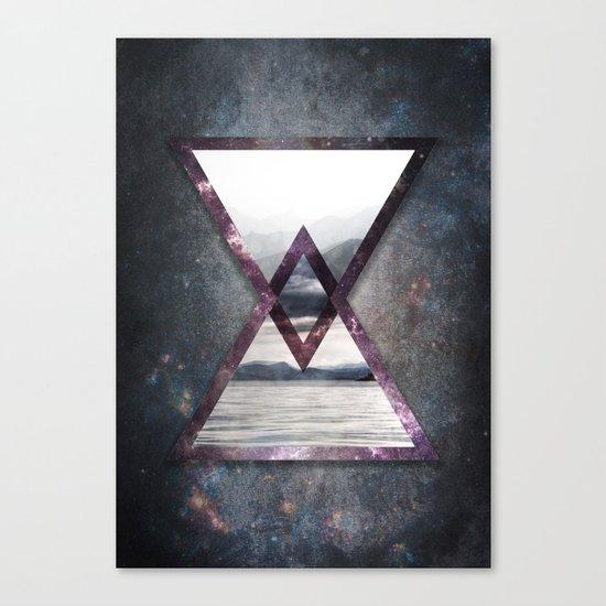 Irregular Galaxy Canvas Print