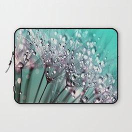 Dandelion Blue Diamonds Laptop Sleeve