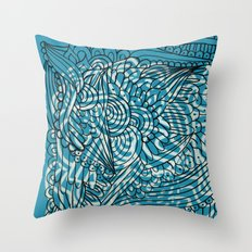 Sea of Everything Throw Pillow