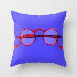 Vintage Eyeglasses #1 Throw Pillow
