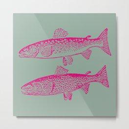 FISH1 Metal Print