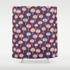 Pattern Project #41 / Mushrooms Shower Curtain