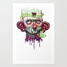 XA NOBLE2 Art Print