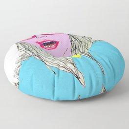 Happy, Vogue Model Floor Pillow