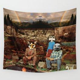 Tamer Animals Wall Tapestry