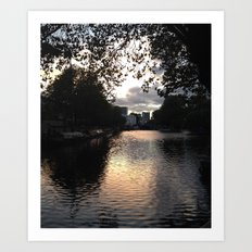 London, Little Venice Art Print