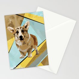 Welsh Corgi Stationery Cards