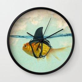 Brilliant Disguise Goldfish Wall Clock
