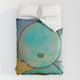 Orotoni from Uranus (Corn) Comforters