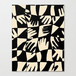 Hand Print Canvas Print