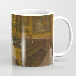Billiard Room at Ménil-Hubert Coffee Mug