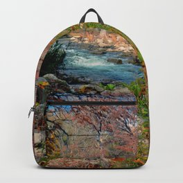 Fall Colors on Guadalupe River Backpack