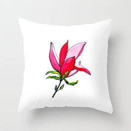 Magnolia the Anarchist Throw Pillow