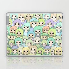 more faces never met (ver. 2) Laptop & iPad Skin