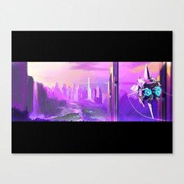 """Concept Art """"la vie en rose"""" Canvas Print"""