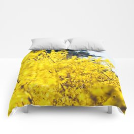 It Was All Yellow Comforters