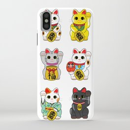 Lucky Cat / Maneki Neko iPhone Case