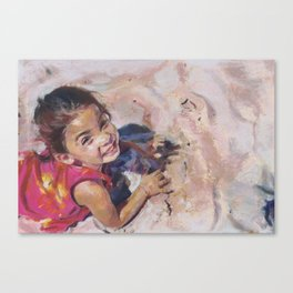 The Bliss of Childhood Canvas Print
