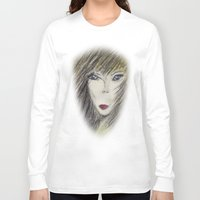 alien Long Sleeve T-shirts featuring Alien by Laake-Photos