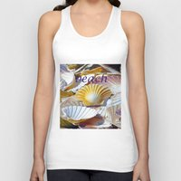 shells Tank Tops featuring Shells by jacqi