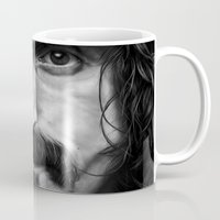 frank Mugs featuring Frank by ClaM
