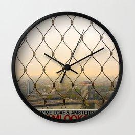 A'DAM Lookout Wall Clock