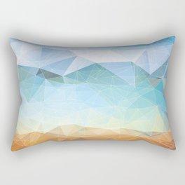 Between Earth and Sky Rectangular Pillow