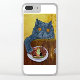 Food bandit1 Clear iPhone Case