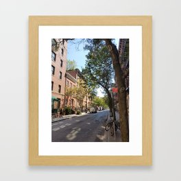 Greenwich Village, New York Framed Art Print