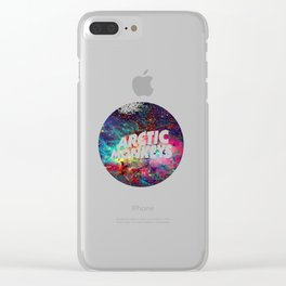 arctic monkey galaxy Clear iPhone Case