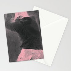 Pink Erosion Stationery Cards