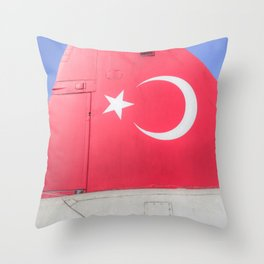 Turkish Air Force Logo Throw Pillow